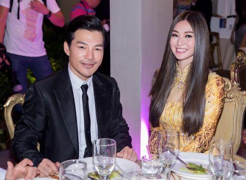 Trần Bảo Sơn và Khánh My từ giữ kẽ đến thân mật tại tiệc từ thiện - Ảnh 3