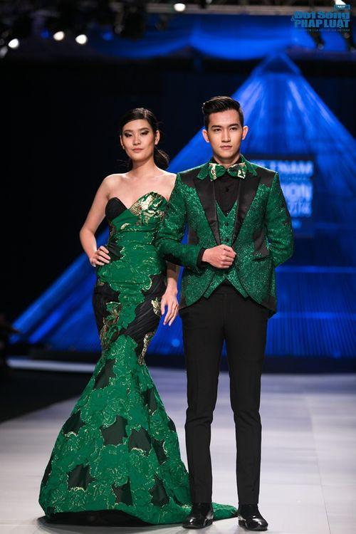 HH Thùy Dung làm nàng thơ trên sàn diễn thời trang của Hoàng Hải - Ảnh 19