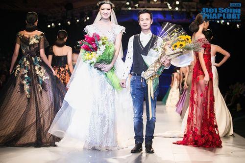 HH Thùy Dung làm nàng thơ trên sàn diễn thời trang của Hoàng Hải - Ảnh 22