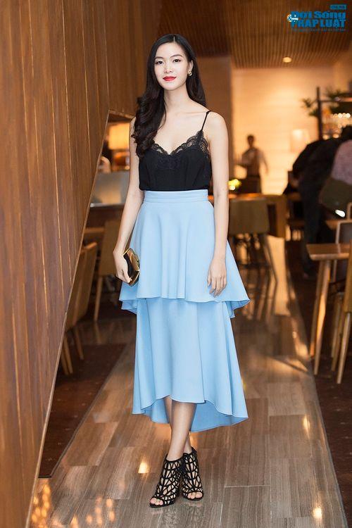 Hoa hậu Thùy Dung, Giáng My đẹp hút hồn trong sự kiện - Ảnh 1