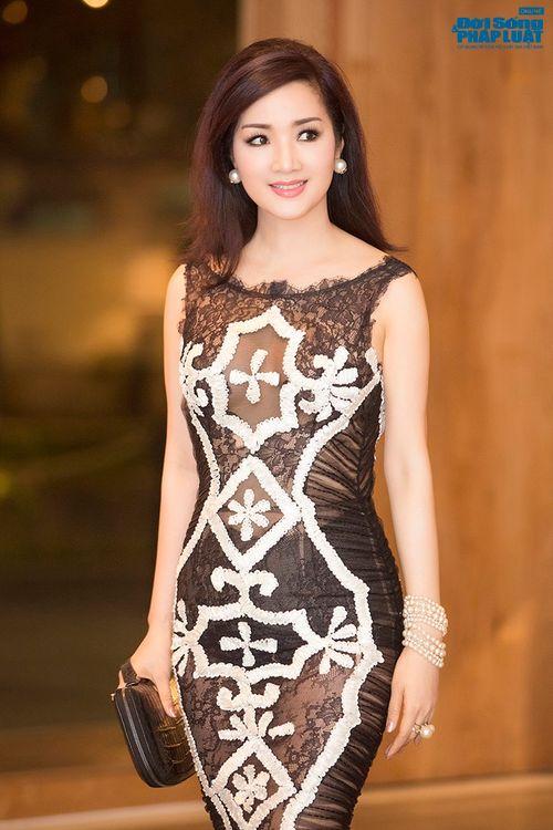 Hoa hậu Thùy Dung, Giáng My đẹp hút hồn trong sự kiện - Ảnh 6