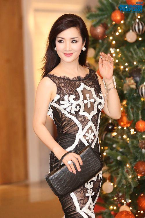 Hoa hậu Thùy Dung, Giáng My đẹp hút hồn trong sự kiện - Ảnh 7