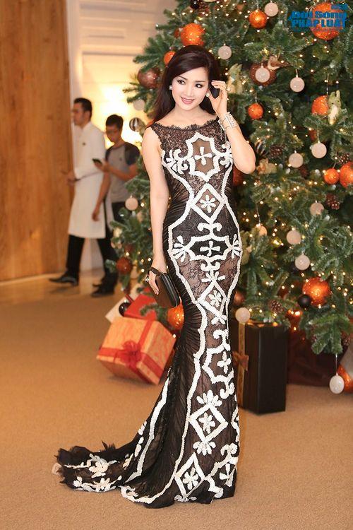 Hoa hậu Thùy Dung, Giáng My đẹp hút hồn trong sự kiện - Ảnh 8