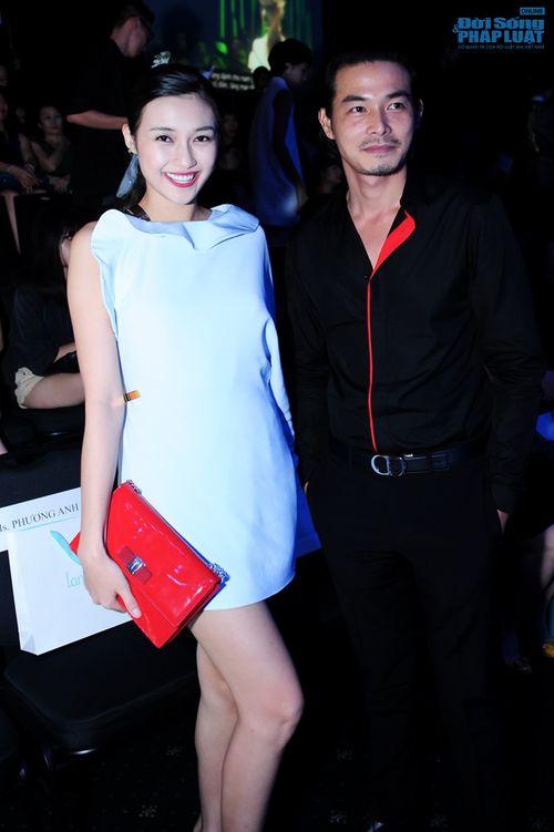 Thảo Trang gợi cảm trên thảm đỏ tuần lễ thời trang Quốc tế - Ảnh 15