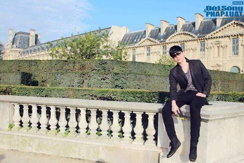Nathan Lee diện cả cây hàng hiệu dạo phố Paris - Ảnh 1
