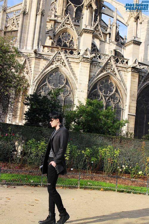 Nathan Lee diện cả cây hàng hiệu dạo phố Paris - Ảnh 6