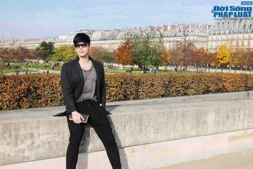 Nathan Lee diện cả cây hàng hiệu dạo phố Paris - Ảnh 2