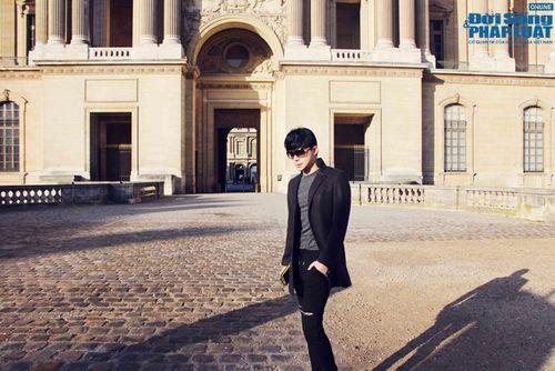Nathan Lee diện cả cây hàng hiệu dạo phố Paris - Ảnh 5