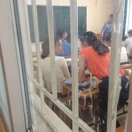 """Những """"kẻ phá hoại"""" giấu mặt tại trường đại học KD&CN Hà Nội - Ảnh 1"""