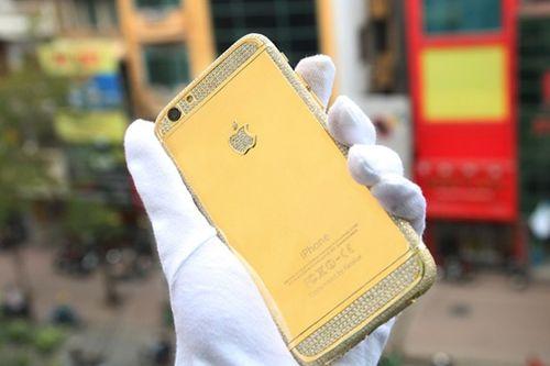 Đại gia vịt Vân Đình chơi iPhone 6 đúc vàng nửa tỷ - Ảnh 1