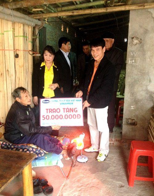 Vinamilk hỗ trợ xây nhà tình thương tại Thái Bình - Ảnh 1