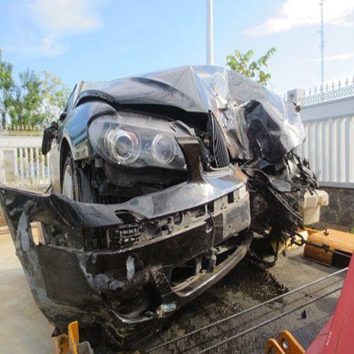 Nghi vấn BKS giả vụ Thượng úy CSGT lái xe BMW tông chết người - Ảnh 1