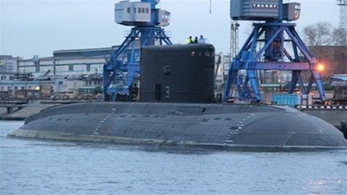 Chùm ảnh: Tàu ngầm Kilo HQ-184 Hải Phòng khởi hành về Việt Nam   - Ảnh 1