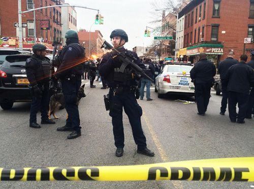 Mỹ: Hai cảnh sát bị giết hại vì cái chết của người da màu - Ảnh 1