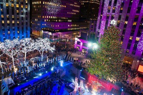 Cây thông khổng lồ, đèn kỷ lục Guinness rực rỡ Giáng sinh - Ảnh 13