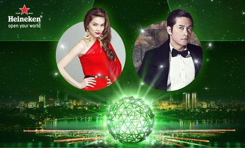 Heineken Countdown 2015 lần đầu tiên rực sáng sân khấu hồ Thiền Quang - Ảnh 1