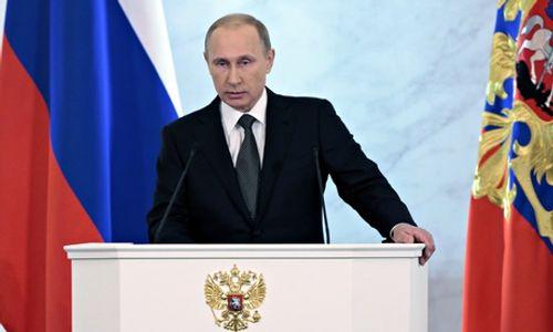 Thông điệp liên bang 2014: Nga sẽ vượt qua mọi khó khăn - Ảnh 1