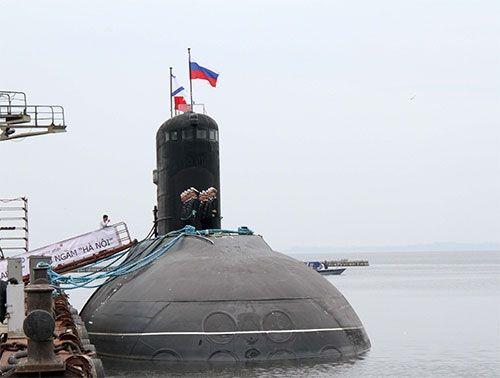 Tàu ngầm Kilo Hải Phòng dự kiến khởi hành về Việt Nam ngày 10/12 - Ảnh 1