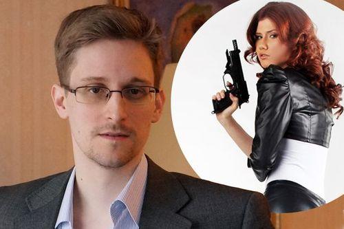 """Nữ """"điệp viên sexy"""" Nga từng được lệnh quyến rũ Snowden - Ảnh 1"""
