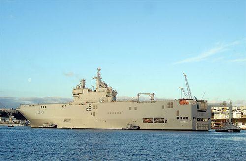 Nga sẵn sàng cho Pháp hoàn tiền nếu không giao tàu chiến Mistral - Ảnh 1