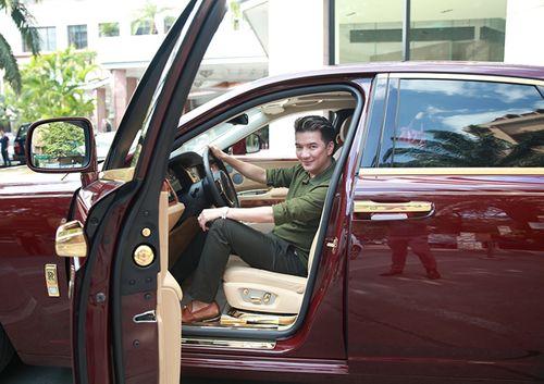 Đàm Vĩnh Hưng lần đầu khoe Rolls Royce mạ vàng 40 tỷ đồng - Ảnh 4