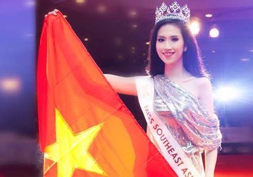 Vũ Trần Triều Thu đăng quang hoa hậu Đông Nam Á 2014 - Ảnh 1