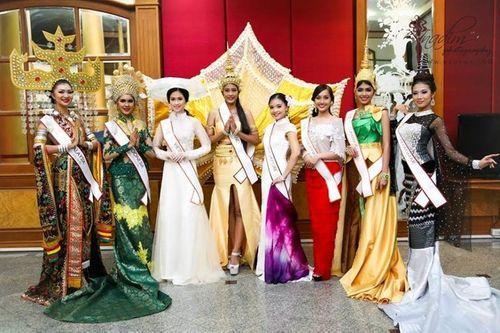 Vũ Trần Triều Thu đăng quang hoa hậu Đông Nam Á 2014 - Ảnh 6