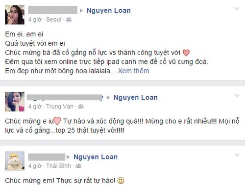 Cộng đồng mạng chúc mừng Nguyễn Thị Loan lọt Top 25 Hoa hậu thế giới - Ảnh 7
