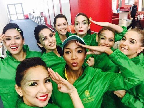 Nguyễn Thị Loan và hành trình lọt Top 25 Hoa hậu thế giới 2014 - Ảnh 9
