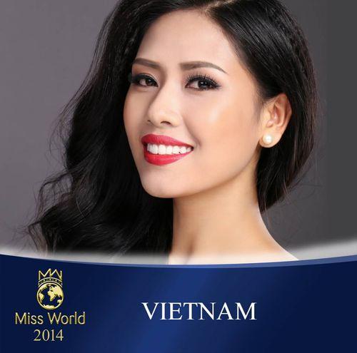 Nguyễn Thị Loan và hành trình lọt Top 25 Hoa hậu thế giới 2014 - Ảnh 1