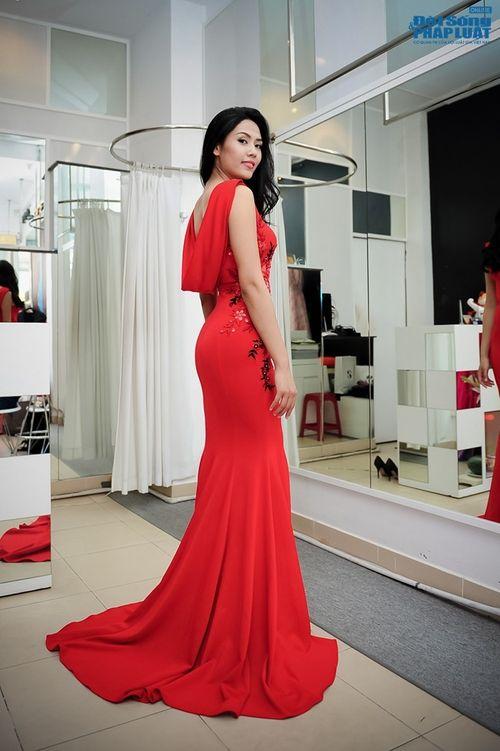 Nguyễn Thị Loan và hành trình lọt Top 25 Hoa hậu thế giới 2014 - Ảnh 2