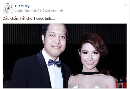 Diễm My 9X thừa nhận chia tay bạn trai doanh nhân - Ảnh 1