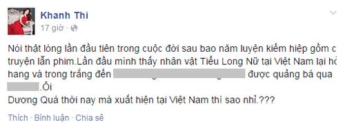 """Khánh Thi """"mỉa mai"""" hình tượng Tiểu Long Nữ của Ngọc Trinh - Ảnh 3"""