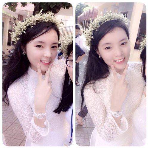 Hình ảnh nhí nhảnh của tân Hoa hậu Việt Nam 2014 thời học sinh - Ảnh 2