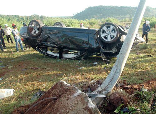 Khởi tố vụ thượng uý CSGT lái xe BMW gây tai nạn chết người - Ảnh 1