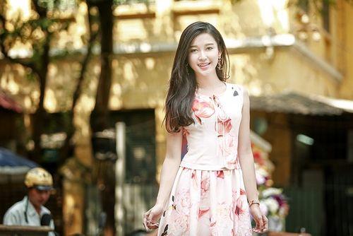 Chiêm ngưỡng vẻ đẹp ngọt ngào quyến rũ của Á hậu 1 Huyền My - Ảnh 11