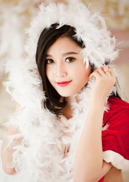 Chiêm ngưỡng vẻ đẹp ngọt ngào quyến rũ của Á hậu 1 Huyền My - Ảnh 4
