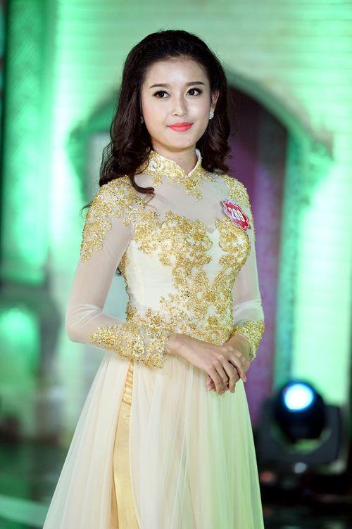 Chiêm ngưỡng vẻ đẹp ngọt ngào quyến rũ của Á hậu 1 Huyền My - Ảnh 2