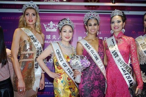 Ngân Hà đăng quang Á hậu 1 Hoa hậu quý bà toàn cầu 2014 - Ảnh 1