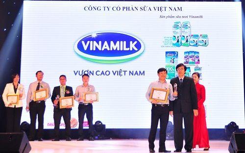 """Vinamilk 3 năm liên tiếp được bình chọn thương hiệu """"Tin và dùng"""" - Ảnh 2"""