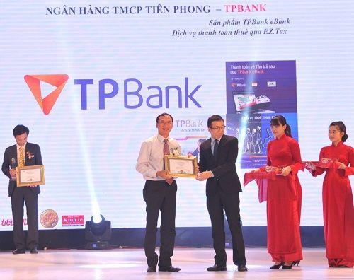 TPBank tiếp tục nhận giải thưởng Tin & dùng Việt Nam 2015 - Ảnh 1