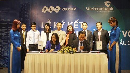 Vietcombank  -  Tập đoàn FLC ký hợp đồng tài trợ vốn cho dự án FLC Twin Towers - Ảnh 1