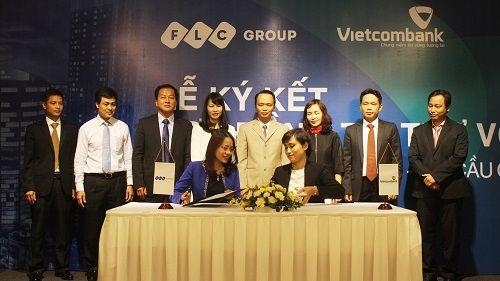 Vietcombank  -  Tập đoàn FLC ký hợp đồng tài trợ vốn cho dự án FLC Twin Towers - Ảnh 2