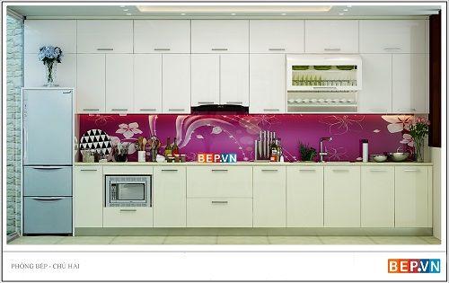 Xu hướng thiết kế tủ bếp nào đang ưa chuông hiện nay? - Ảnh 1