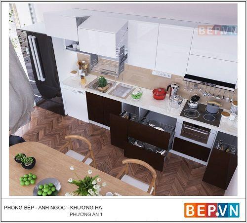 Xu hướng thiết kế tủ bếp nào đang ưa chuông hiện nay? - Ảnh 3