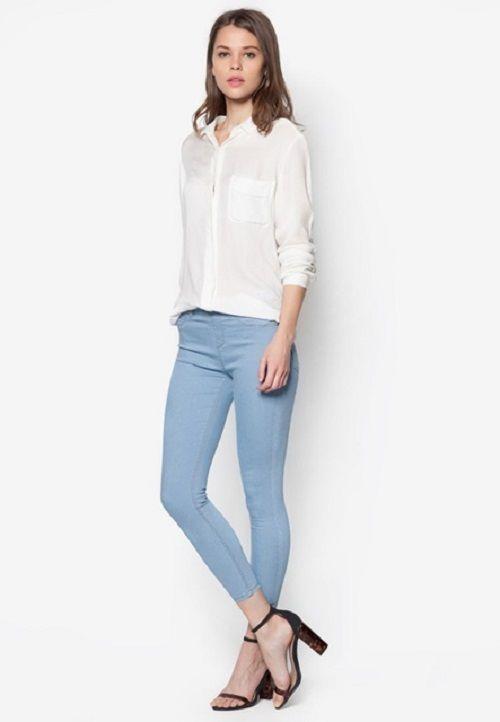 Đa dạng quần jean nữ lửng cho phái đẹp tha hồ lựa chọn - Ảnh 2