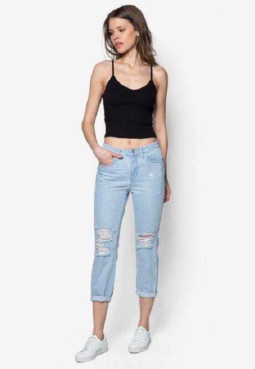 Đa dạng quần jean nữ lửng cho phái đẹp tha hồ lựa chọn - Ảnh 3