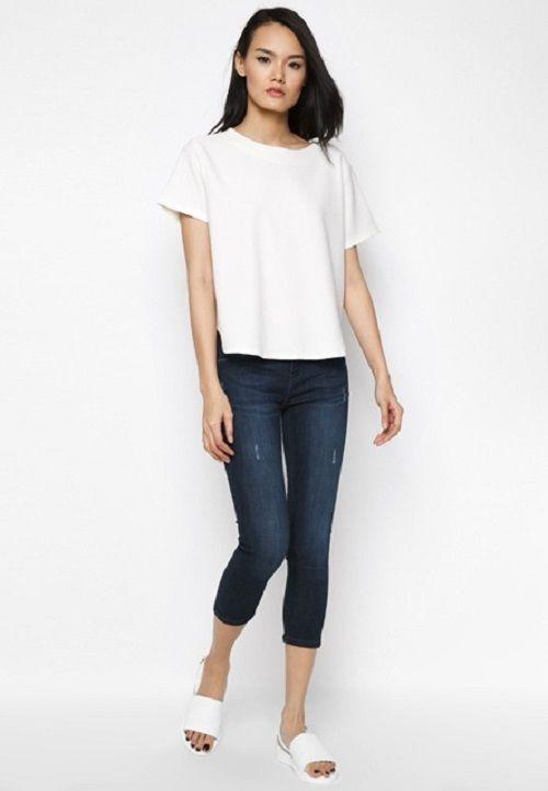 Đa dạng quần jean nữ lửng cho phái đẹp tha hồ lựa chọn - Ảnh 1