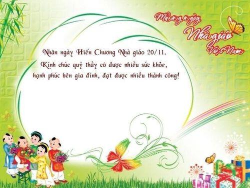 Ngày 20/11: Lời chúc ý nghĩa dành tặng thầy, cô  - Ảnh 1