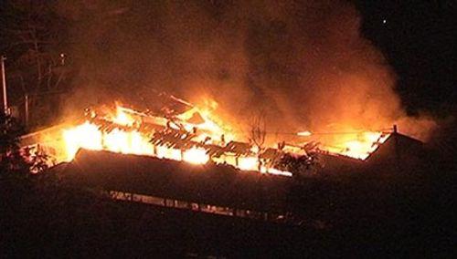 Toàn cảnh hiện trường vụ cháy chợ ở huyện Xín Mần, Hà Giang - Ảnh 2